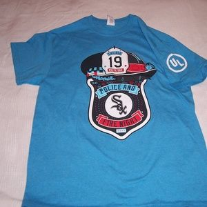Chicago White Sox Police and Fire Night T-shirt/M